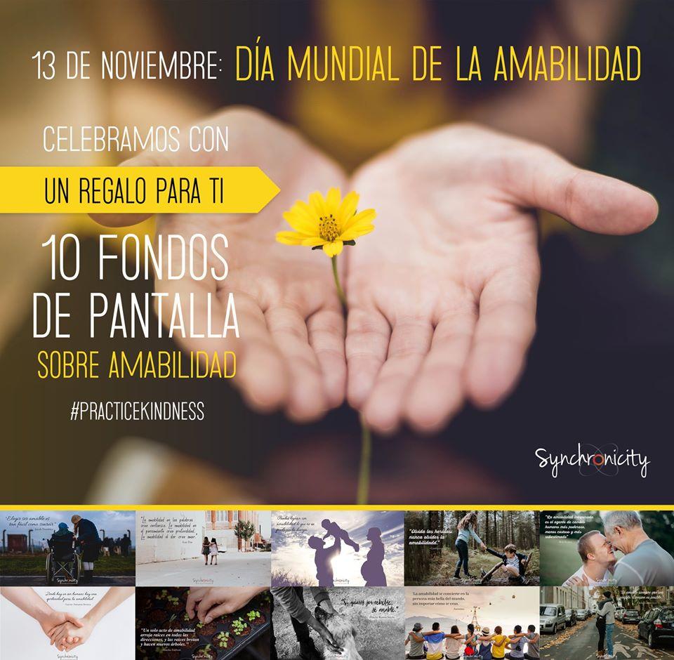 Gratis: Fondos de Pantalla para Celebrar el Día de la Amabilidad
