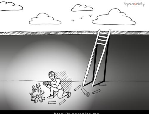 Caricatura – Atrapado
