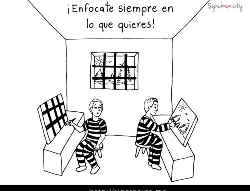 Caricatura – ¡Enfócate siempre en lo que quieres!