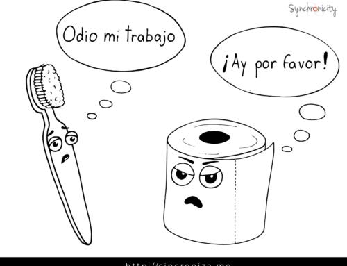 Caricatura – Odio mi trabajo