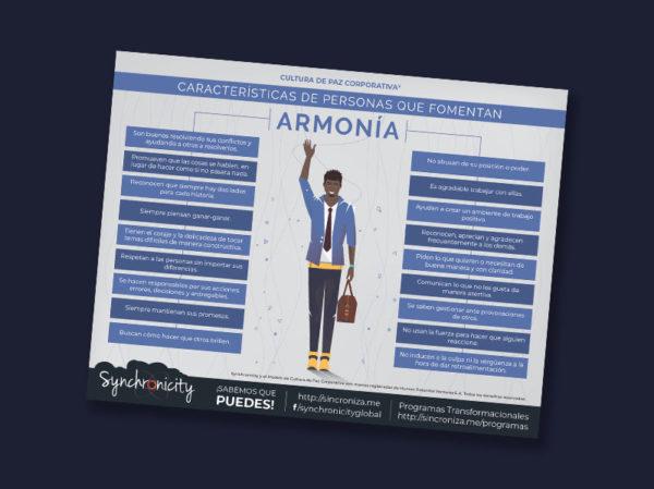 Infográfico Personas Que Fomentan Armonía