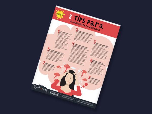 Infográfico - Tips para el Manejo de la Ansiedad