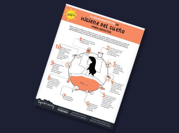 Infográfico - Mandamiento de Higiene del Sueño