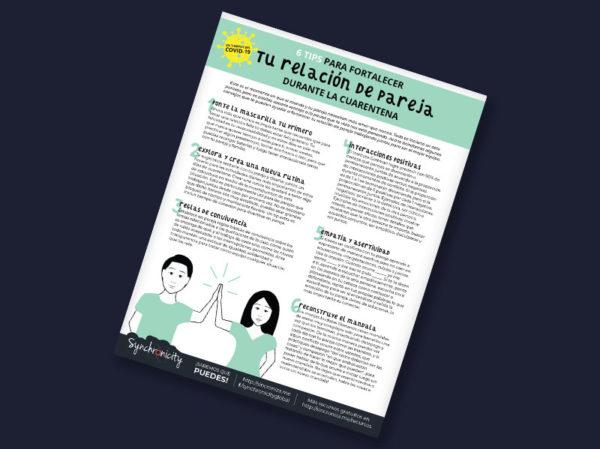 Infográfico - Tips para Fortalecer Relación de Pareja