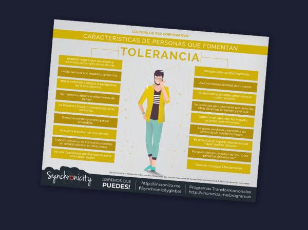 Infográfico Personas Que Fomentan Tolerancia