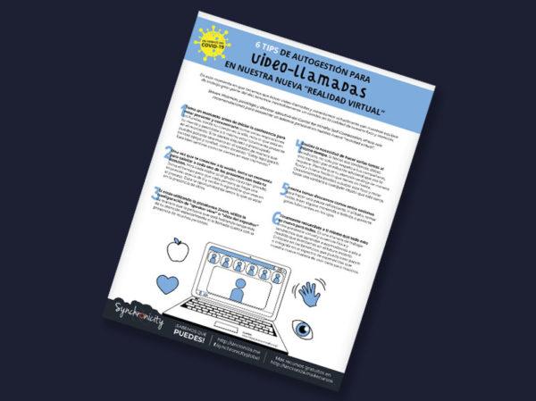 Infográfico - Tips de Autogestión para Video-llamadas